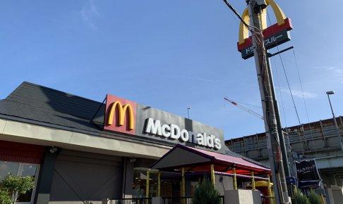 マクドナルド店頭画像